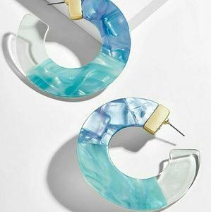 New: Ocean Acrylic Earrings